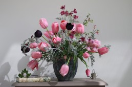 spring floral design by Tangle & Thyme