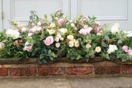 natural funeral flowers - sheaf